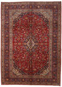 Keshan Alfombra 295X406 Oriental Hecha A Mano Rojo Oscuro/Gris Oscuro Grande (Lana, Persia/Irán)