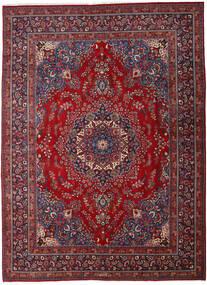 Mashad Alfombra 290X395 Oriental Hecha A Mano Rojo Oscuro/Roja Grande (Lana, Persia/Irán)