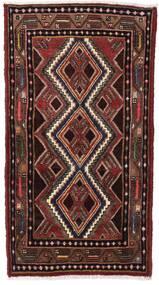 Hamadan Alfombra 80X140 Oriental Hecha A Mano Rojo Oscuro/Marrón Oscuro (Lana, Persia/Irán)