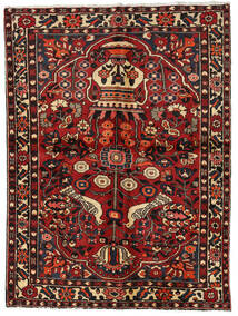 Bakhtiar Alfombra 156X209 Oriental Hecha A Mano Rojo Oscuro/Marrón Oscuro (Lana, Persia/Irán)