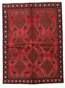 Afshar Alfombra 149X204 Oriental Hecha A Mano Rojo Oscuro/Óxido/Roja (Lana, Persia/Irán)