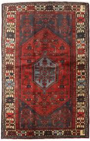 Hamadan Alfombra 127X197 Oriental Hecha A Mano Rojo Oscuro/Marrón Oscuro (Lana, Persia/Irán)