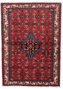 Asadabad Alfombra 98X140 Oriental Hecha A Mano Rojo Oscuro/Roja (Lana, Persia/Irán)