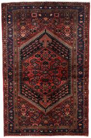 Hamadan Alfombra 135X203 Oriental Hecha A Mano Rojo Oscuro (Lana, Persia/Irán)
