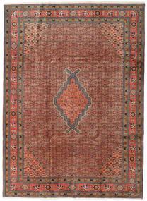 Ardabil Alfombra 208X288 Oriental Hecha A Mano Rojo Oscuro/Marrón Oscuro (Lana, Persia/Irán)