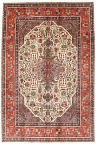 Tabriz Alfombra 194X288 Oriental Hecha A Mano Marrón Oscuro/Marrón Claro (Lana, Persia/Irán)