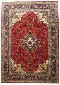 Tabriz Alfombra 201X283 Oriental Hecha A Mano Marrón Oscuro/Marrón Claro (Lana, Persia/Irán)