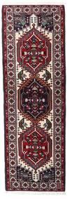 Ardabil Alfombra 66X194 Oriental Hecha A Mano Rojo Oscuro/Blanco/Crema (Lana, Persia/Irán)