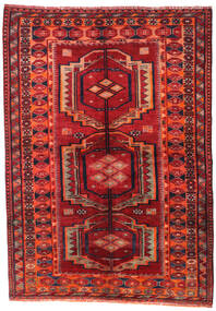 Lori Alfombra 158X223 Oriental Hecha A Mano Rojo Oscuro/Óxido/Roja (Lana, Persia/Irán)