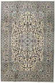 Keshan Alfombra 196X292 Oriental Hecha A Mano Gris Oscuro/Gris Claro (Lana, Persia/Irán)