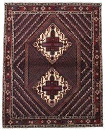 Afshar Shahre Babak Alfombra 133X170 Oriental Hecha A Mano Rojo Oscuro/Marrón Oscuro (Lana, Persia/Irán)