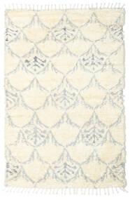 Barchi/Moroccan Berber - Indo Alfombra 160X230 Moderna Hecha A Mano Blanco/Crema/Beige/Gris Claro (Lana, India)