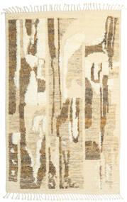 Barchi/Moroccan Berber - Indo Alfombra 160X230 Moderna Hecha A Mano Beige Oscuro/Beige/Marrón Claro (Lana, India)