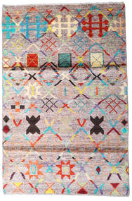 Moroccan Berber - Afghanistan Alfombra 119X177 Moderna Hecha A Mano Beige/Gris Oscuro (Lana, Afganistán)