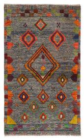 Moroccan Berber - Afghanistan Alfombra 85X144 Moderna Hecha A Mano Gris Claro (Lana, Afganistán)