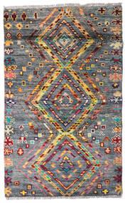 Moroccan Berber - Afghanistan Alfombra 84X135 Moderna Hecha A Mano Gris Oscuro (Lana, Afganistán)