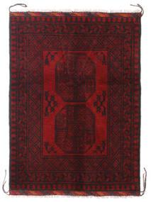 Afghan Alfombra 85X115 Oriental Hecha A Mano Rojo Oscuro/Marrón Oscuro (Lana, Afganistán)