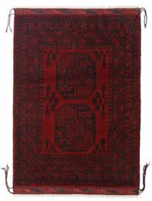 Afghan Alfombra 85X117 Oriental Hecha A Mano Rojo Oscuro/Marrón Oscuro (Lana, Afganistán)