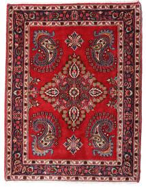 Hamadan Shahrbaf Alfombra 73X95 Oriental Hecha A Mano Rojo Oscuro/Marrón Oscuro (Lana, Persia/Irán)