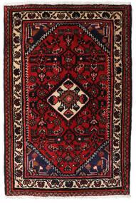 Turkaman Alfombra 66X83 Oriental Hecha A Mano Marrón Oscuro/Rojo Oscuro (Lana, Persia/Irán)