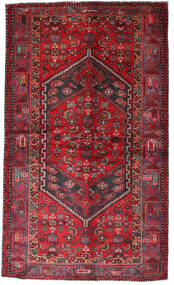 Hamadan Alfombra 135X228 Oriental Hecha A Mano Rojo Oscuro/Roja (Lana, Persia/Irán)