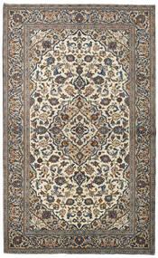 Keshan Alfombra 147X241 Oriental Hecha A Mano Gris Oscuro/Gris Claro (Lana, Persia/Irán)