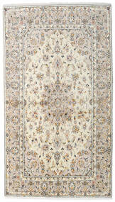 Keshan Alfombra 136X242 Oriental Hecha A Mano Gris Claro/Beige (Lana, Persia/Irán)