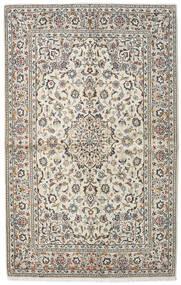 Keshan Alfombra 140X222 Oriental Hecha A Mano Gris Claro/Beige (Lana, Persia/Irán)