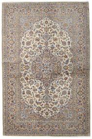 Keshan Alfombra 137X211 Oriental Hecha A Mano Gris Claro/Marrón Claro (Lana, Persia/Irán)
