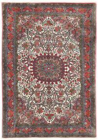 Bidjar Takab/Bukan Alfombra 113X153 Oriental Hecha A Mano Gris Oscuro/Rojo Oscuro (Lana, Persia/Irán)