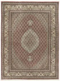 Tabriz 50 Raj Con Seda Alfombra 155X209 Oriental Hecha A Mano Gris Claro/Marrón Claro (Lana/Seda, Persia/Irán)