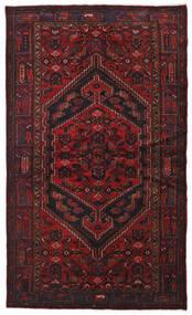 Hamadan Alfombra 134X226 Oriental Hecha A Mano Rojo Oscuro (Lana, Persia/Irán)