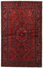 Hamadan Alfombra 127X209 Oriental Hecha A Mano Rojo Oscuro/Marrón Oscuro (Lana, Persia/Irán)