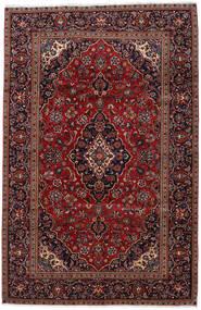 Keshan Alfombra 193X298 Oriental Hecha A Mano Rojo Oscuro (Lana, Persia/Irán)