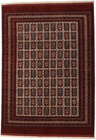 Turkaman Alfombra 208X289 Oriental Hecha A Mano Marrón Oscuro/Rojo Oscuro (Lana, Persia/Irán)