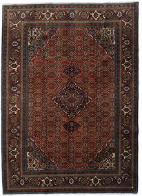 Ardabil Alfombra 207X288 Oriental Hecha A Mano Marrón Oscuro/Rojo Oscuro (Lana, Persia/Irán)