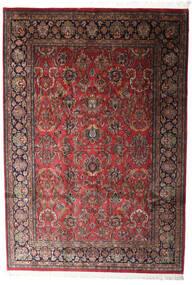 Keshan Indo Alfombra 196X285 Oriental Hecha A Mano Rojo Oscuro/Gris Oscuro (Lana, India)