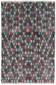 Moroccan Berber - Afghanistan Alfombra 158X207 Moderna Hecha A Mano Gris Oscuro/Negro (Lana, Afganistán)
