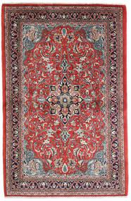 Sarough Alfombra 108X165 Oriental Hecha A Mano Óxido/Roja/Púrpura Oscuro (Lana, Persia/Irán)