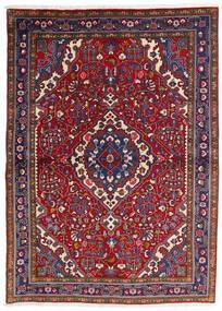 Sarough Alfombra 112X154 Oriental Hecha A Mano Rojo Oscuro/Púrpura Oscuro (Lana, Persia/Irán)