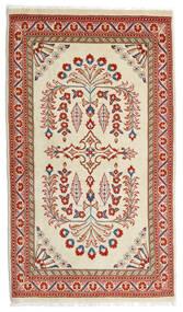 Sarough Alfombra 80X140 Oriental Hecha A Mano Verde Claro/Rojo Oscuro (Lana, Persia/Irán)