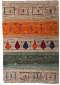 Loribaft Persia Alfombra 105X154 Moderna Hecha A Mano Gris Claro/Gris Oscuro (Lana, Persia/Irán)