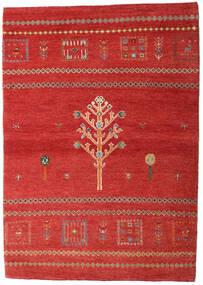 Loribaft Persia Alfombra 102X144 Moderna Hecha A Mano Óxido/Roja/Rojo Oscuro (Lana, Persia/Irán)