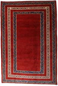 Loribaft Persia Alfombra 213X310 Moderna Hecha A Mano Rojo Oscuro/Óxido/Roja (Lana, Persia/Irán)