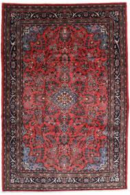 Hamadan Shahrbaf Alfombra 217X315 Oriental Hecha A Mano Rojo Oscuro/Marrón Oscuro (Lana, Persia/Irán)