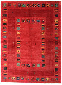 Loribaft Persia Alfombra 165X225 Moderna Hecha A Mano Óxido/Roja/Roja (Lana, Persia/Irán)