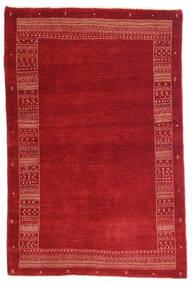 Loribaft Persia Alfombra 100X153 Moderna Hecha A Mano Roja/Rojo Oscuro (Lana, Persia/Irán)