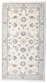 Kashmar Alfombra 78X138 Oriental Hecha A Mano Gris Claro/Beige (Lana, Persia/Irán)