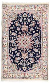 Kashmar Alfombra 77X130 Oriental Hecha A Mano Blanco/Crema/Gris Claro (Lana, Persia/Irán)