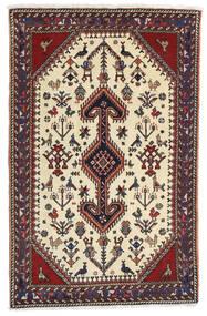 Gashgai Alfombra 80X126 Oriental Hecha A Mano Marrón Oscuro/Beige (Lana, Persia/Irán)